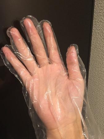 ポリエチレン手袋2